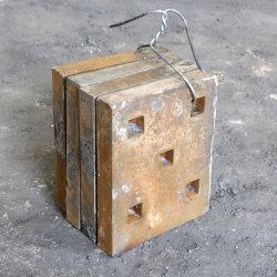 trituradora de alta resistencia de la placa de mandíbula de partes de la barra de soplado del revestimiento de desgaste