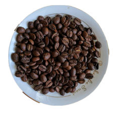 ユンナンのコーヒー豆は異なった味のコーヒー豆が付いているインスタントコーヒーを焼いた