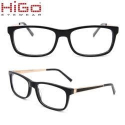 Optische Glazen van de Acetaat van het vierkant-Kader van Eyewear van het Ontwerp van China de In het groot Nieuwe