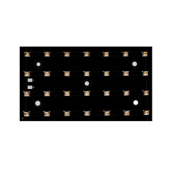 سعر جيد 60 واط، وحدة LED بحجم 130*70 مم تعمل بالأشعة فوق البنفسجية