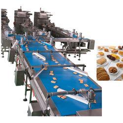 تغذية ملفات تعريف الارتباط الصناعية عالية السرعة وحزمة التعبئة/التغذية التلقائية مانع التسرب وخط التعبئة