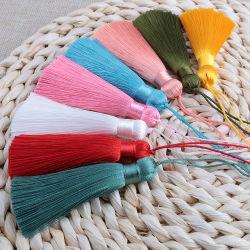 Богемия челкой облицовки шелк Tassel для украшения, мешки, подарки, DIY судов