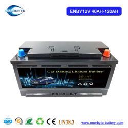 12V Pack de batterie au lithium pour la voiture à partir 40-80 Ah Pack de Batterie LiFePO4
