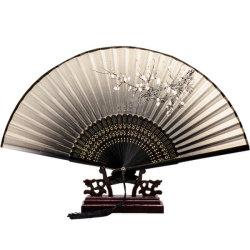 La conception personnalisée chinoise Double ventilateur de la main de bambou de papier