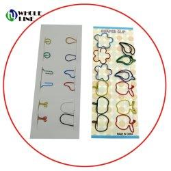 Regalos promocionales Clip de libro en papel de forma personalizada