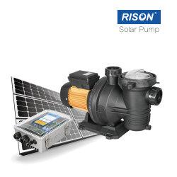 48-72V 1.5HP 수영장 태양열 펌프 시스템 Big Power