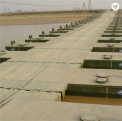 Временный персонал общего назначения с плавающей запятой понтонный мост ленты для средних и больших рек