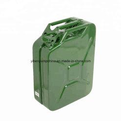 5L 10L 20L'Amérique vert de type Jerry peut métal fût d'huile du réservoir de carburant d'huile peut avec bec verseur