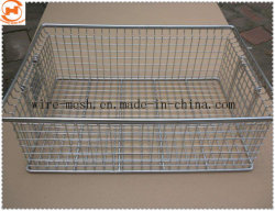 Cesta de malla de alambre de acero inoxidable para la canasta de alimentos/ Cesta de la cocina