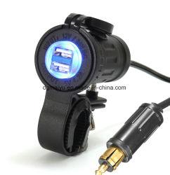 Doppel-USB-Adapter-Aufladeeinheit für BMW-LKW Hella Stecker-Kontaktbuchse