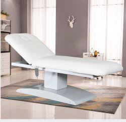 Fs0016 Branco em aço inoxidável Eléctrico Base Cama Beleza Massagem Tabela Cama de Massagem