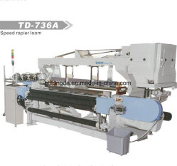 Telaio della rapière di Shutteless del telaio per tessitura del macchinario della tessile di Tongda