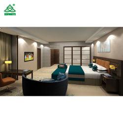Chambre à coucher Mobilier de chambre à coucher modernes Set de meubles en bois de l'hôtel de luxe 5 étoiles personnalisé