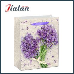 Мода Лаванды дизайн упаковки подарков бумаги торгового сумки