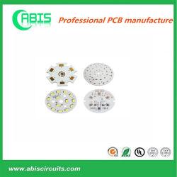 OEM-поставщиком алюминия для светодиодного освещения печатной платы с компонентами сертификат UL