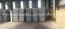 Porco de alumínio 99,7% utilizado para o lingote de fundição