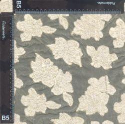 130cm Última bordadas macio tecido líquido Indiana