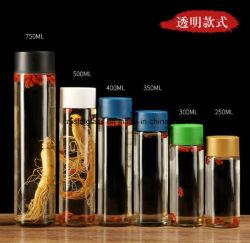 Différentes tailles de gros de bouteille de vin médicinal résistant à la chaleur