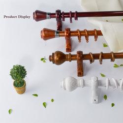 H004 28mm Plastikeiserner Vorhang Rod