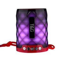 Tg155 de Kleurrijke LEIDENE Lichte Mini Openlucht Draadloze Spreker Bluetooth van de Flits