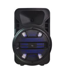 고성능 큰 무선 트롤리 홈 DJ 디스코 빛 실내 당 스피커