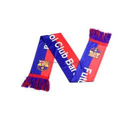Sciarpa del tifoso lavorata a maglia calcio su ordinazione della bandiera della fabbrica mini