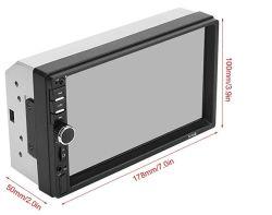 """7"""" 2 DIN MP3 и MP4 1080P автомобильный радиоприемник проигрыватель MP3 7010b 7012b 7018b"""