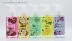 Populaires 325ml de la formation de mousse de savon doux avec huiles essentielles, hydratant, Wild Bl Cerise, Citron Citrus, eucalyptus, de la Vanille noix de coco, de menthe fraîche Laveder