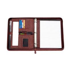 In het groot Aanpassing heet-Verkoopt de Multifunctionele Omslag van de Manager van het Notitieboekje van de Aktentas