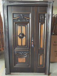 銅線マットブラックボトム佛山鉄製の建鋼製ドア