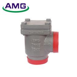15-80mm Kolben-Schweißens-Winkel-Ammoniak-Gas-Kugel-Rückschlagventil