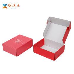 Kundenspezifisches Wellpappen-faltbares Produkt-verpackenpost-Geschenk-Kasten