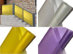 Матовый непрозрачный Блестящие цветные лаки статические декоративные пластиковые окна пленок на стекло