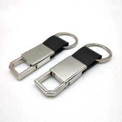 سلسلة مفاتيح جلدية رجال الأعمال الحزام المشابك على سلسلة المفاتيح الحلبة أزياء ملحقات مفاتيح عالية الجودة