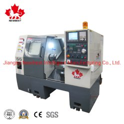 S 시리즈 S280 높은 정밀도 기울기 침대 CNC 선반 기계 Tema 방적공
