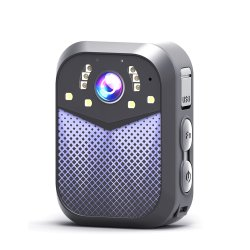 Nueva cámara de la Ley de la cámara del cuerpo Personal Video Recorder Introduzca el número de la policía de apoyo (AVP012S1).