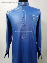 Moda Los hombres visten pantalones Hijab musulmana musulmán Thobe mayorista Clothinig Islámica bata larga túnica árabe vestidos túnica árabe Abaya