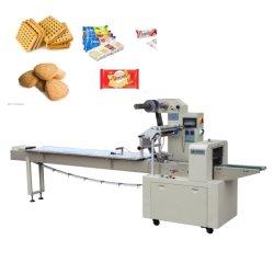 Machine van de Verpakking van het Visvlees van het Roomijs van de Bol van het Hoofdkussen van de hoge snelheid de Automatische Roterende