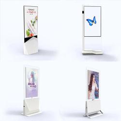 """43"""" 55"""" ultra fino do dois lados da tela de toque LCD/LED para publicidade ecrãs LCD/LED"""