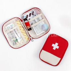 Bolsa de almacenamiento portátil de la medicina, botiquín de primeros auxilios en Stock bolsa