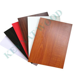 1220*2440mm Tablero de muebles de calidad premium Tablero de MDF con cara de melamina