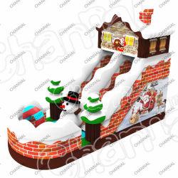 クリスマスハウス膨張式スライド商用膨張式プールスライド膨張式スライド / ウォータースライド / 膨張可能スライド販売用