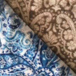 Матовый полиэстер мебель шторки подушки сиденья домашнего текстиля диван флис велюровой тесьмой ткань