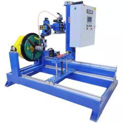 Brides de tuyau hydraulique de rotation du rotateur de la soudure de table