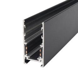 Voyant d'aluminium personnalisé piste magnétique du système de lumière linéaire de rampe montée en surface mince pour LED de lumière de piste magnétique Solution haute voie ferroviaire monté en surface