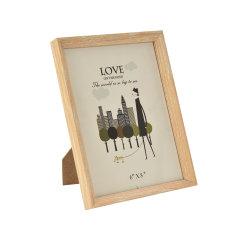 Aangepaste houten lijst voor 4X6 5X7 6X8 10*10 Photo Factory Kosten