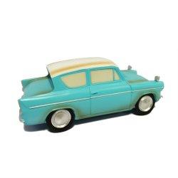 販売のイースター熱い樹脂青い車の彫像Polyreisnは装飾を制作する