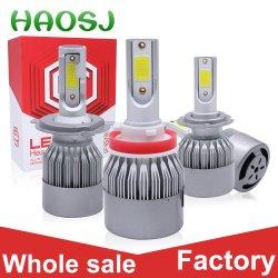 En gros une ampoule de phare à LED Super Bright 9-36V auto voiture électrique des feux de kit de conversion de LED H4
