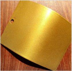 Metallic Gold le revêtement de peinture poudre polyester époxy Spray pour finissage des métaux