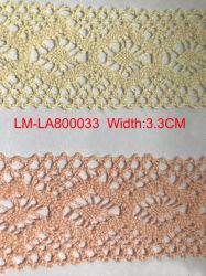 Cores Lace Venda Quente Fashion Lace Rolo de embarcações de comércio por grosso de fresagem Rolo Lace 100% algodão Bordados Lace 3.0Cm Largura de rendas de algodão de acessórios de vestuário